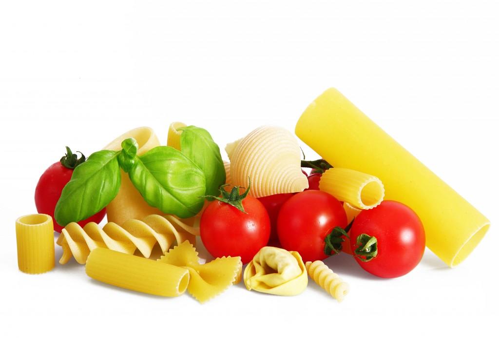 ingedienti pasta e pomodoro