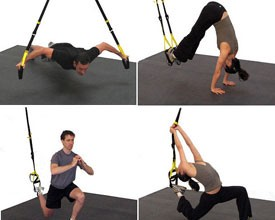 TRX Suspension Trainer e ti alleni con il tuo corpo