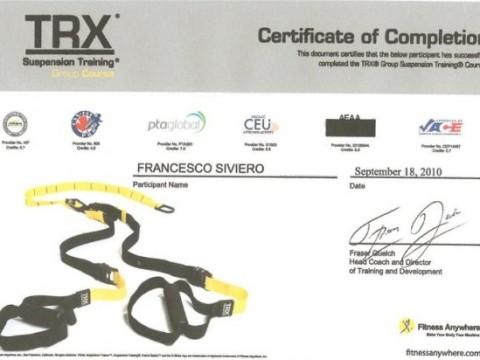 certificato trx2