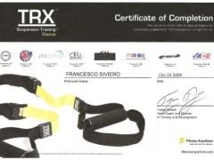 certificato trx