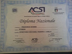 istruttore nazionale functional training
